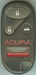 -  Acura AC-4BC CWT72147KA CWT72147KA FREQUENCY 433Mhz PROGRAMMING